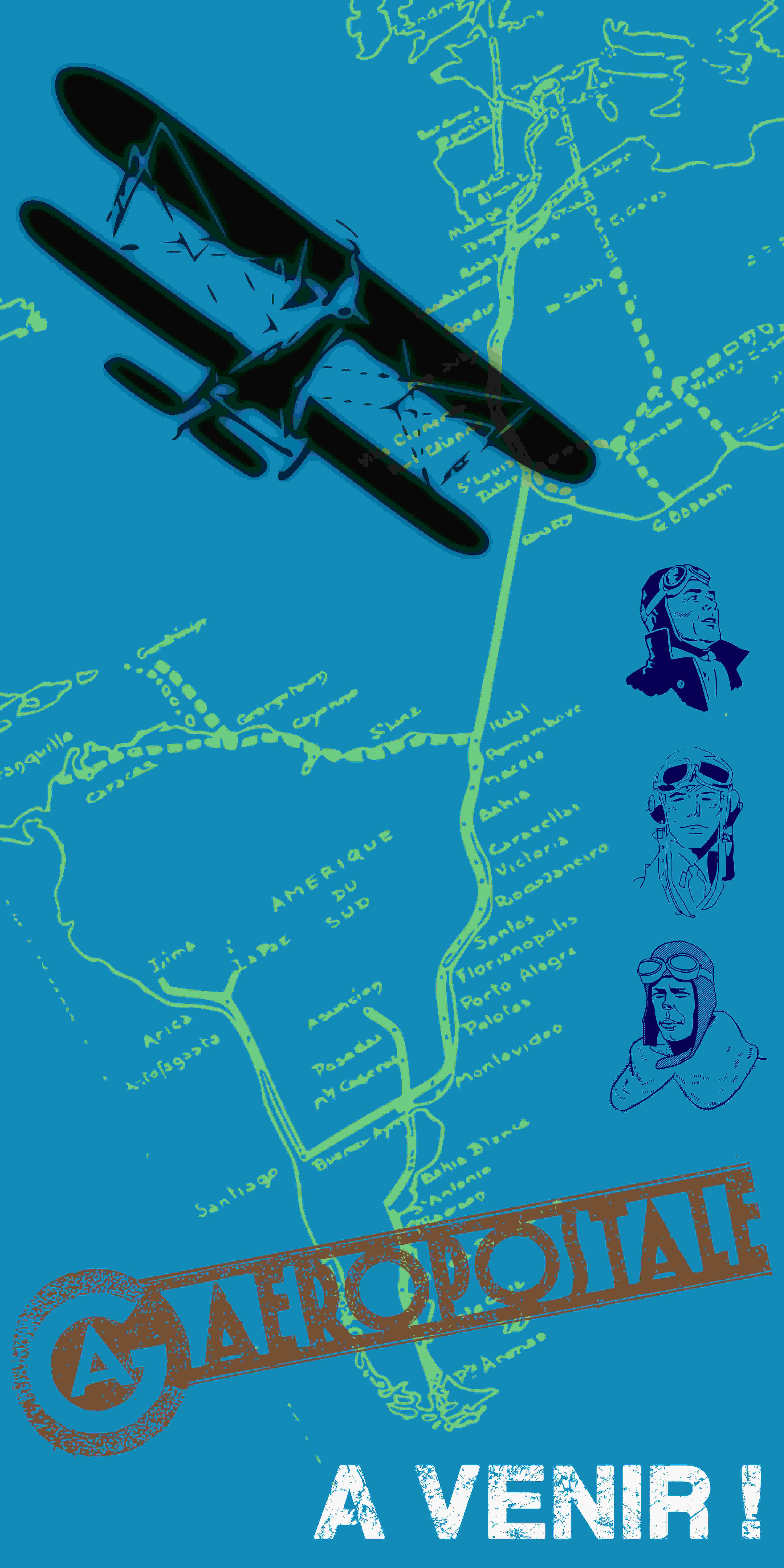Escape Game en extérieur à Toulouse avec Granhòta. Mission : Mystère dans l'aéropostale.